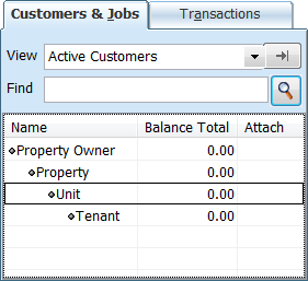 QuickBooks real estate setup