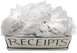 Receipts Box