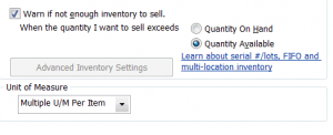QuickBooks Items and Inventory Part 2