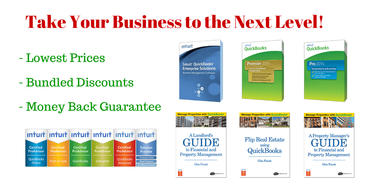 Take your business to the next level with QuickBooks