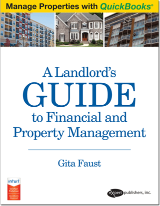 QuickBooks landlord book for rental, property management and bookkeeping