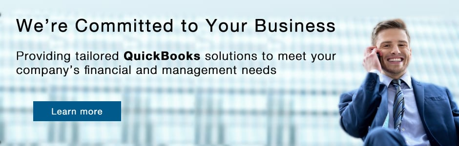 committed to your real estate and property management business using quickbooks