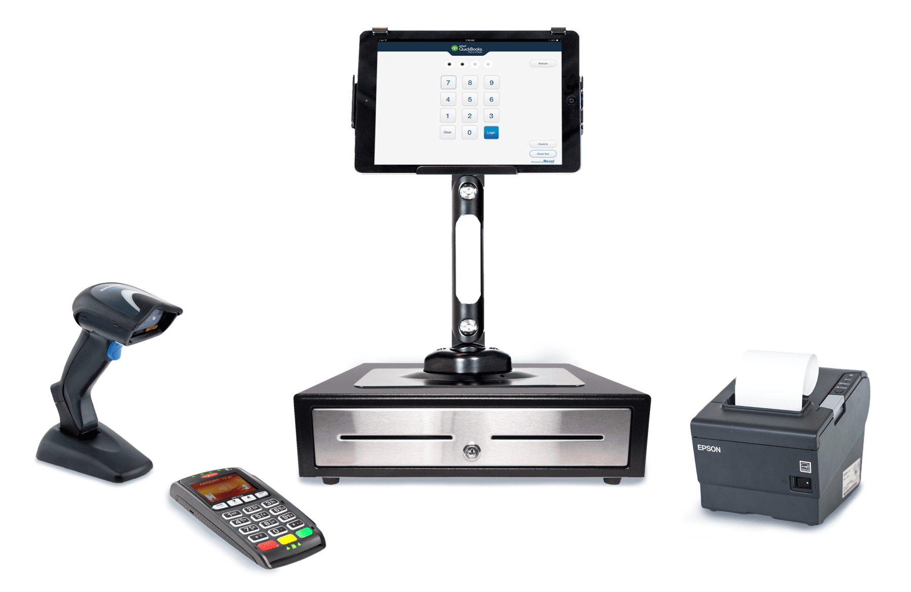 Quickbooks Point Of Sale Pos System Software For Small