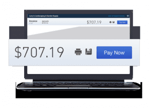 Intuit QuickBooks Payments E-Invoicing