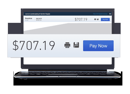 Intuit QuickBooks Payments Email Invoices Online Mobile Payments - Quickbooks electronic invoicing