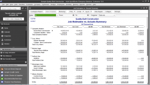 quickbooks enterprise contractor estimates