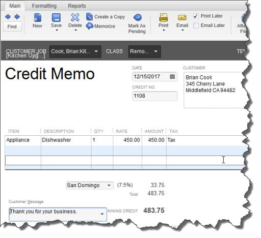 learn how to issue refunds in quickbooks