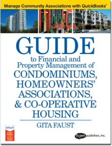 quickbooks condo hoa property management software bookkeeping' associations & co-operative housing
