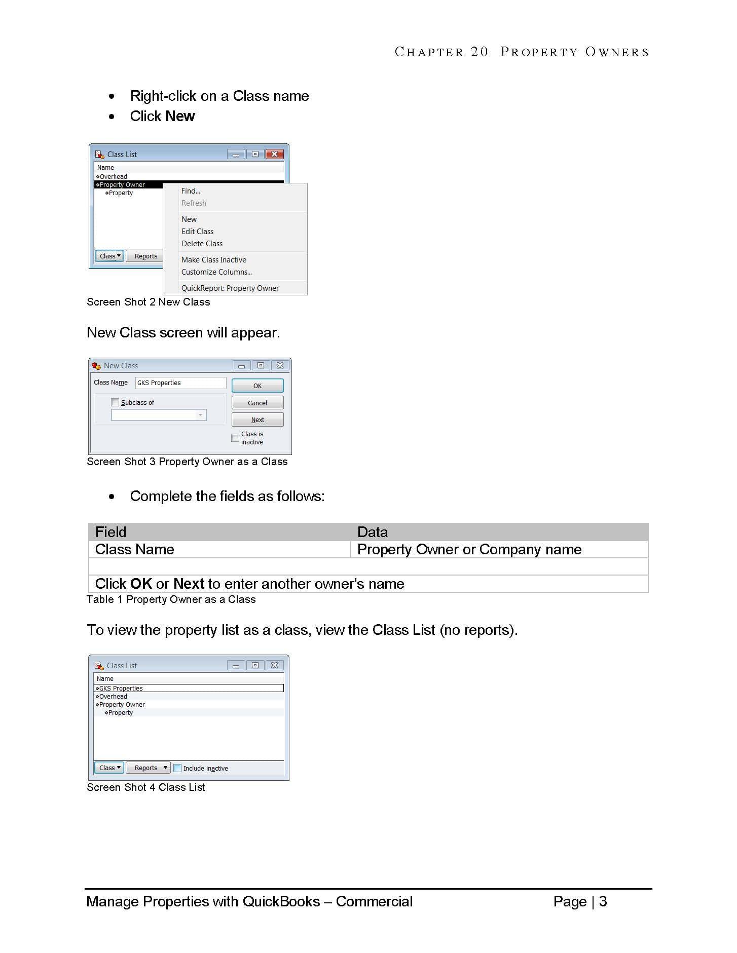 Commercial Property Management for Investors: QuickBooks Desktop