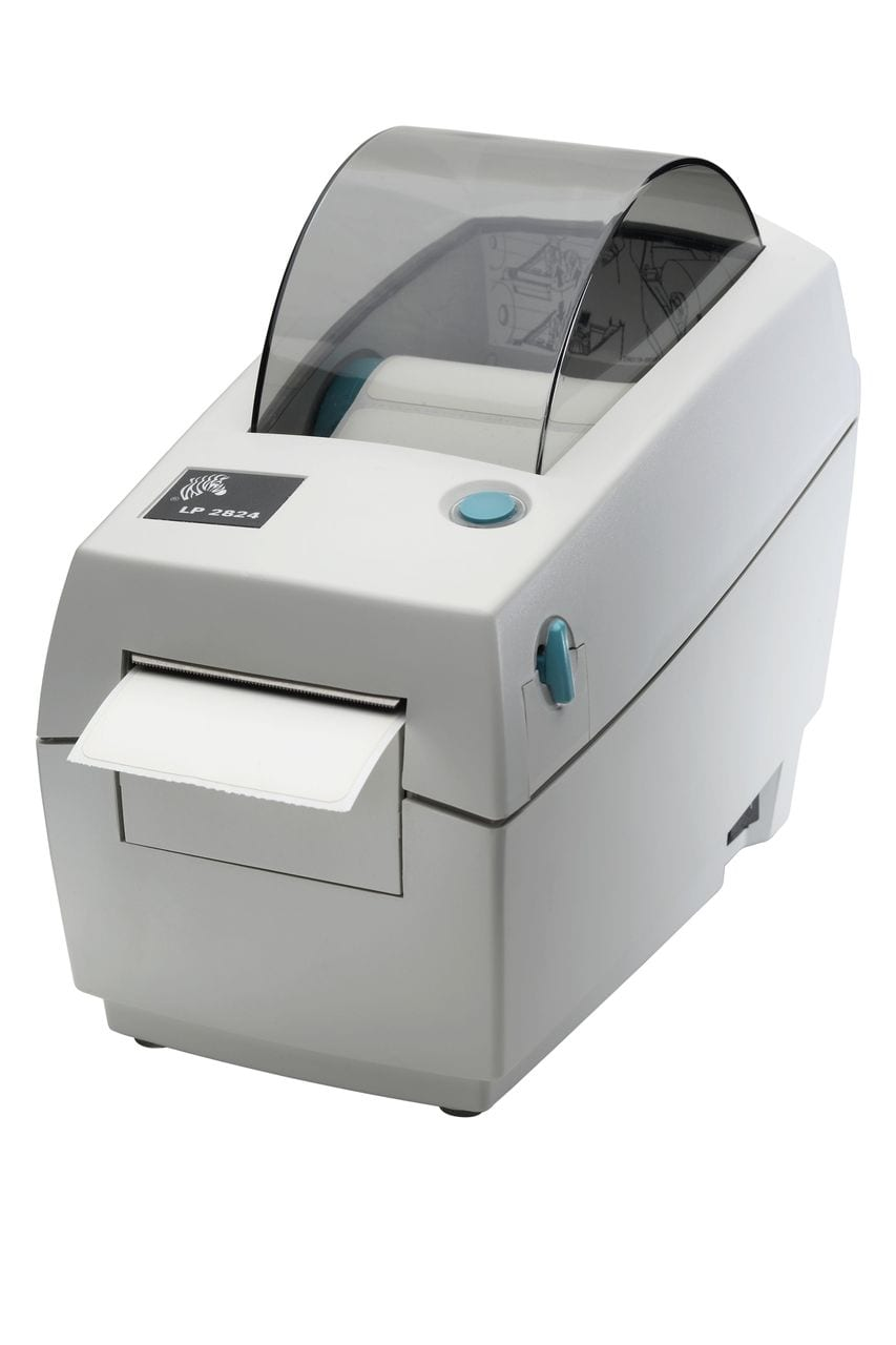 It is a photo of Comprehensive Zebra Gk888t Label Barcode Printer