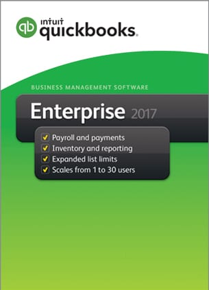 quickbooks enterprise 2017