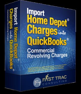 home depot revolving quickbooks