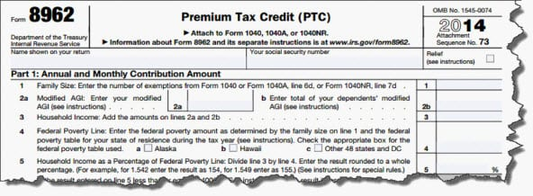The New Form 1095 A Reporting Health Insurance Coverage