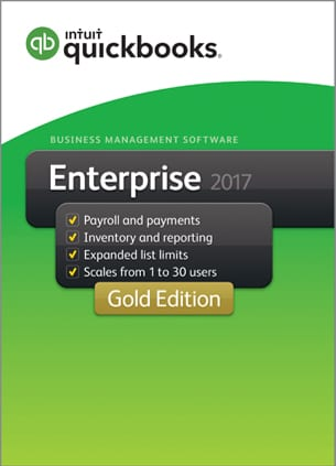 quickbooks enterprise gold 2017