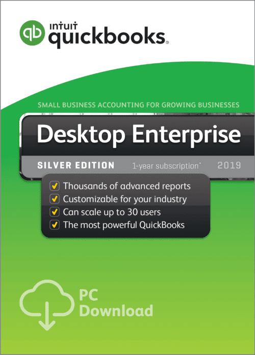 QuickBooks Enterprise Silver edition 2019 Desktop