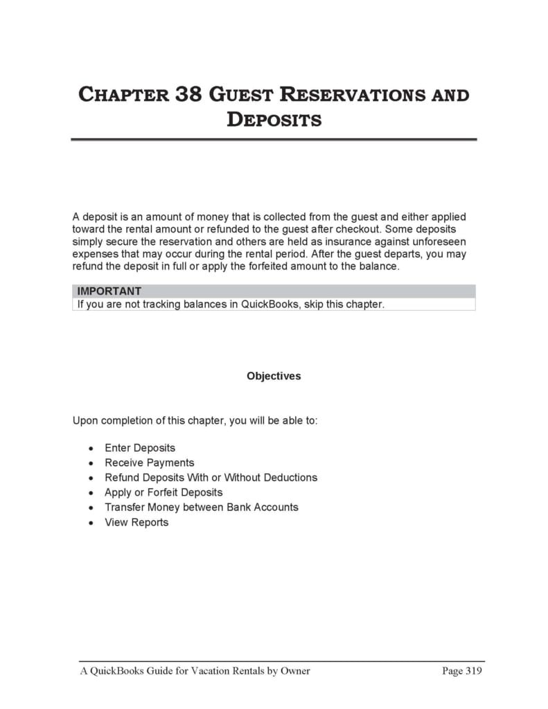 vacation rental property management by owner guest reservations