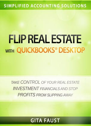 flip real estate quickbooks desktop book cover