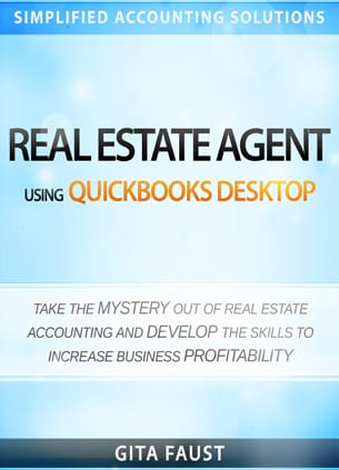 real estate agent quickbooks desktop book cover small