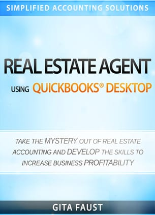 accounting for real estate agents book cover