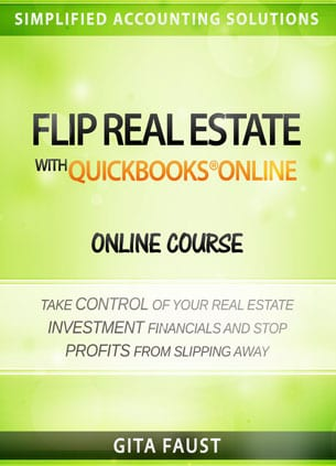 Flip Real Estate with QuickBooks Online - Video Course