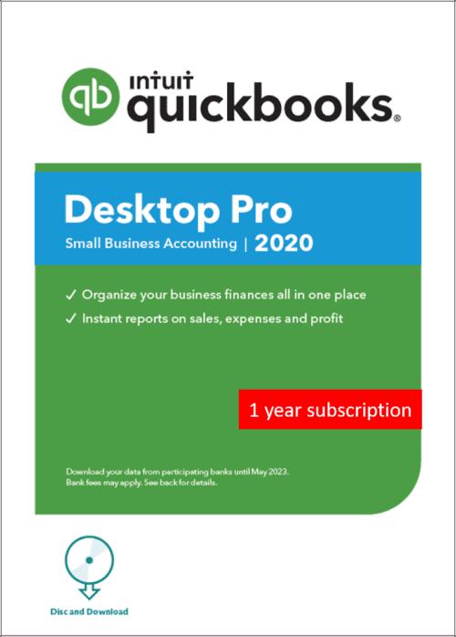 QuickBooks Pro Plus 2020