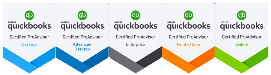 ALL QuickBooks Certified Advanced Badges