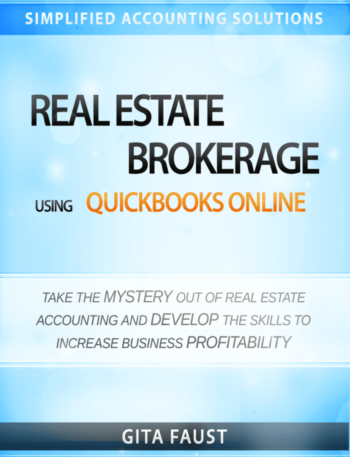 QuickBooks Online for Real Estate Broker