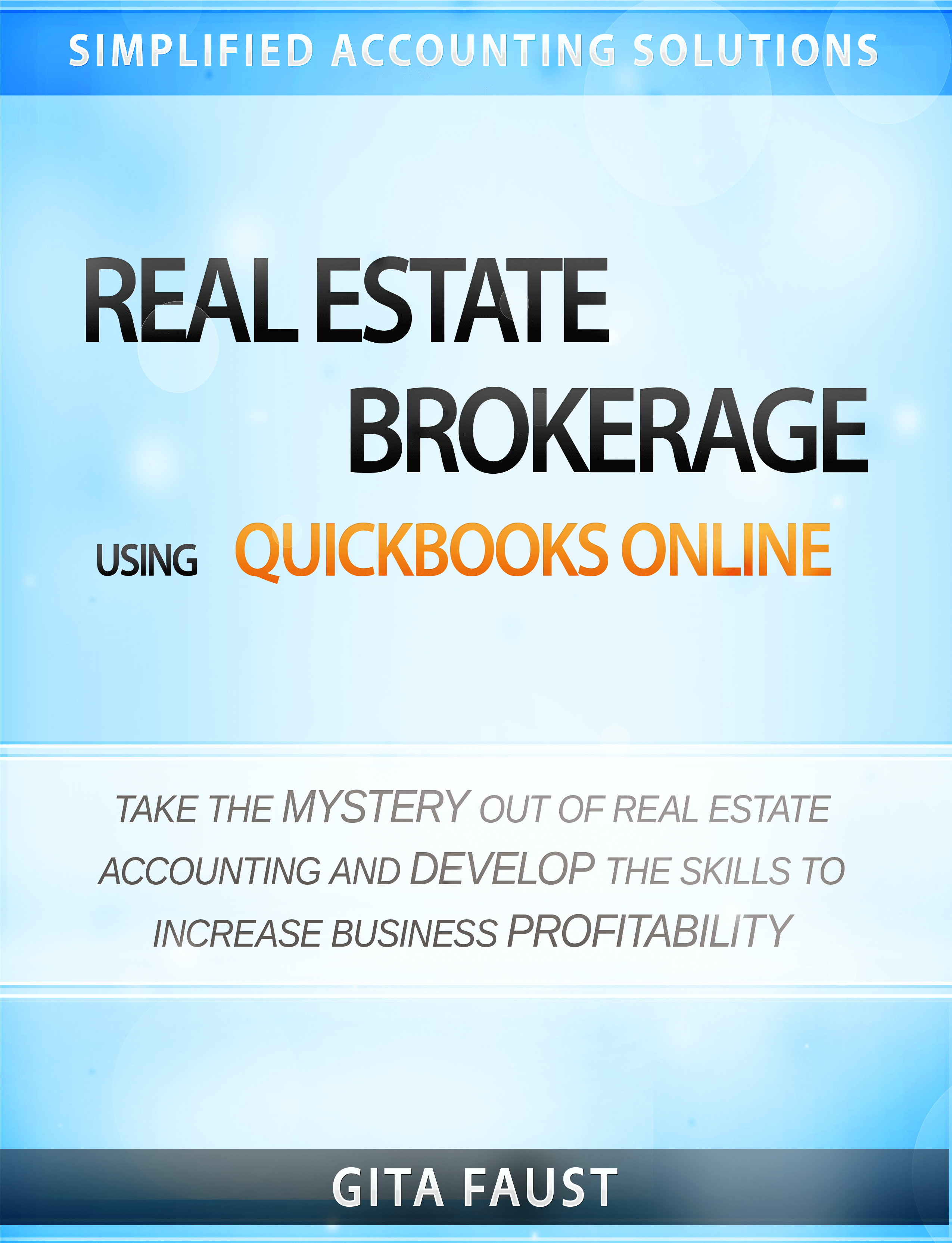 QuickBooks Online for Real Estate Brokers