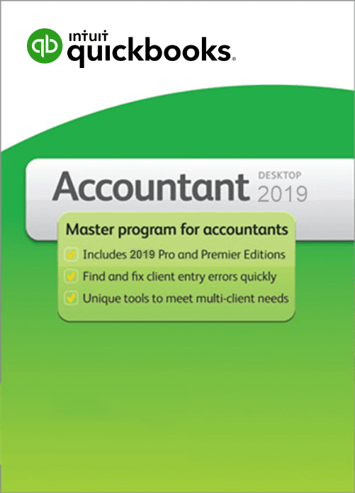 QuickBooks Accountant 2019 Desktop