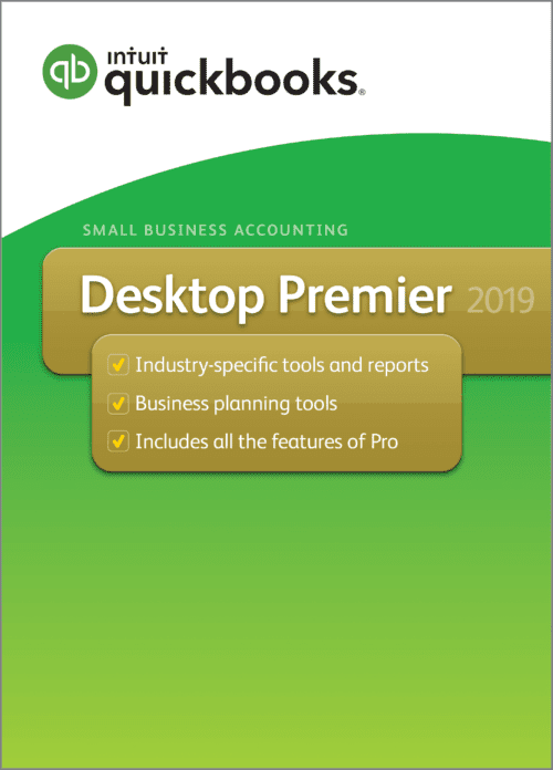 QuickBooks Premier 2019 Desktop