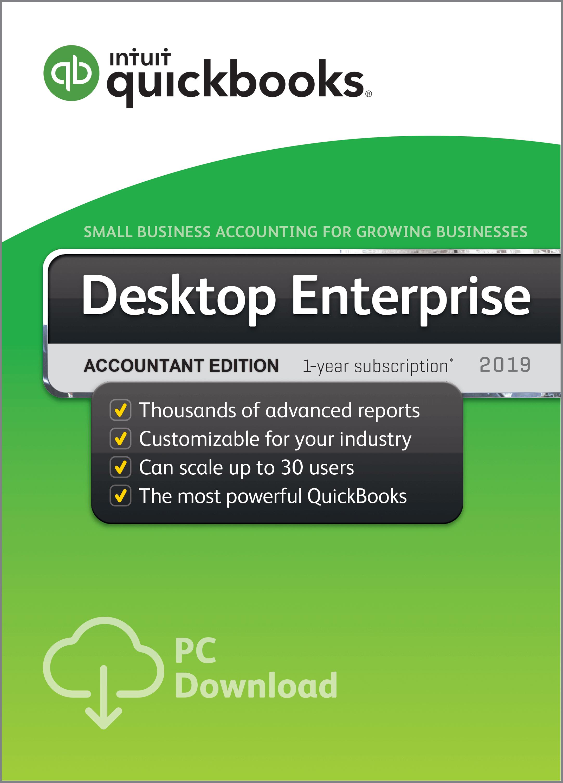 QuickBooks Enterprise Accountant 19 0