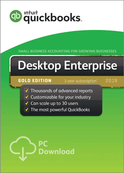 QuickBooks Enterprise Gold 19 edition