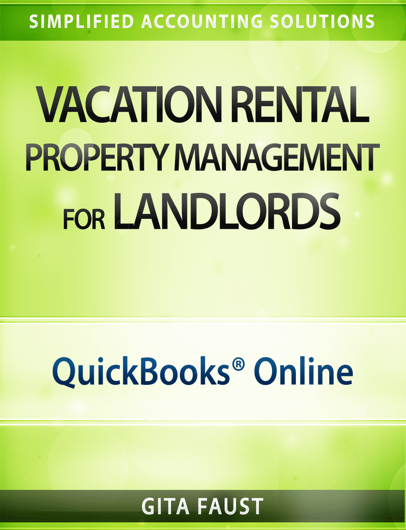 QuickBooks Online for Vacation Rentals