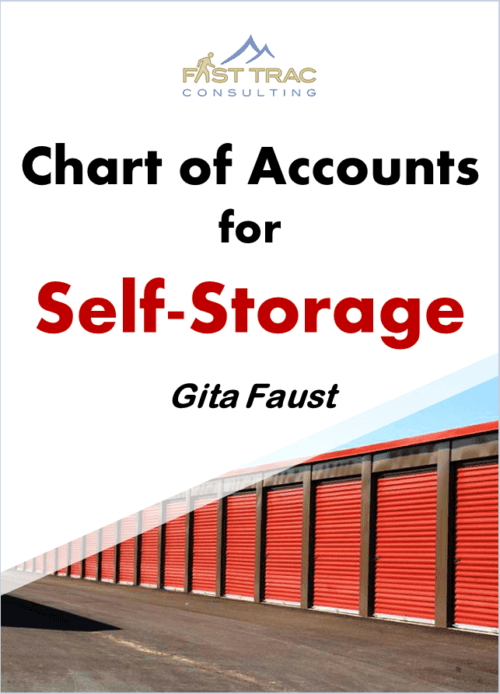 Self Storage chart of accounts